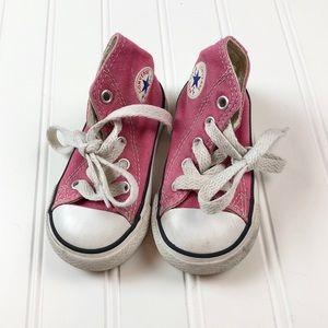 Converse All Star Toddler sz5 Pink High Tops